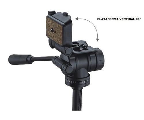 Tripé Para Câmeras Fotograficas E Filmadoras  1,6 Metros - WF-5316