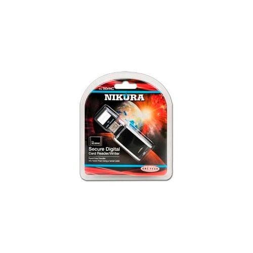 Leitor E Gravador De Cartão De Memória SD/SDHC VIA USB 2.0 - NI-SDRW