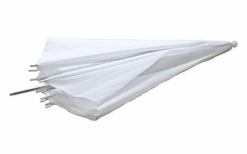 Sombrinha Difusora Em Nylon Branca Para Estúdio Fotográfico - 82cm