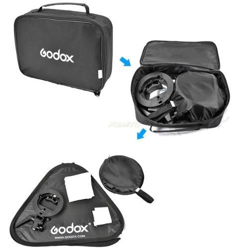 Softbox Para Flash Dedicado 60x60cm Speedlight Dobravel Com Grid - SFUV60X60 GRID