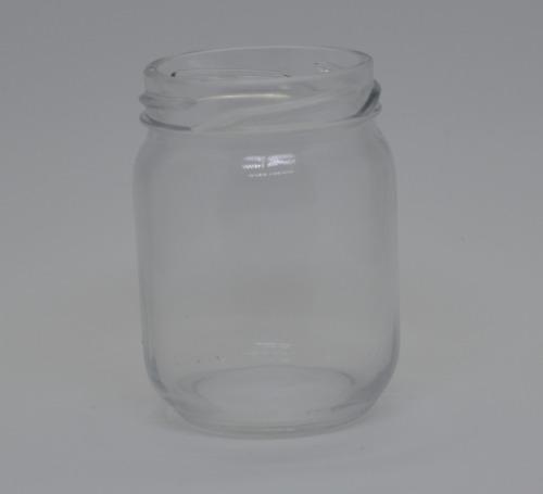 24 Potes De Vidro De 200ml - Tampa Branca - Para Papinha, Compostas, Saladas, etc