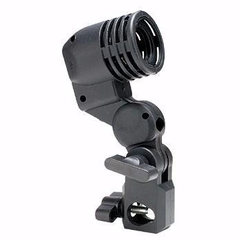 Suporte Para Sombrinha Com Soquete Para Lâmpada Flash Luz - Soquete Simples E27