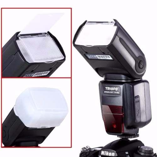 Flash Profissional Triopo Speedlight Canon Ou Nikon Universal - TR-988