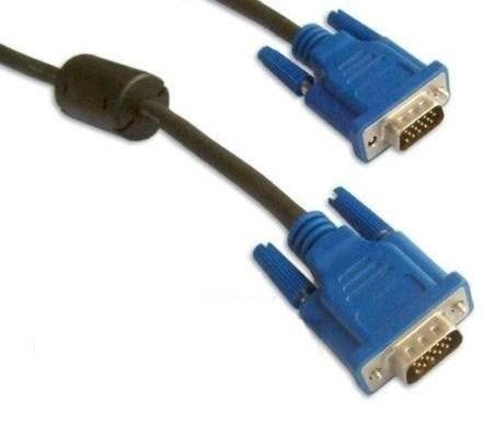 Cabo Vga Para Monitor Lcd Pc Projetor Datashow Tv - 1,8 Blindado