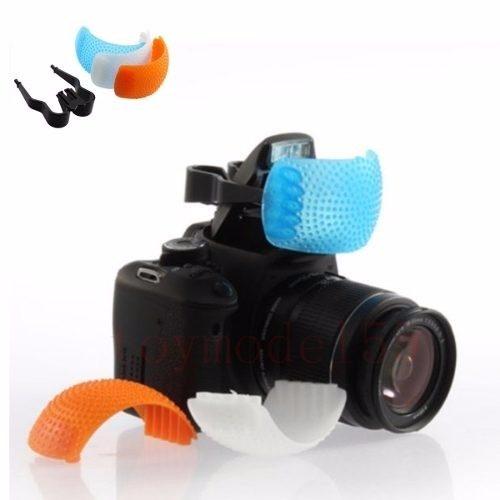 Difusor de Flash Multi-Color Para Câmeras Fotográficas - MULTICOLOR