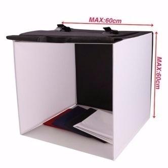 Mini Studio 60x60 Com 4 Fundos Coloridos - CIL-60