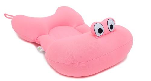 Almofada Para Banho Do Bebê Baby Pil Rosa - AB004