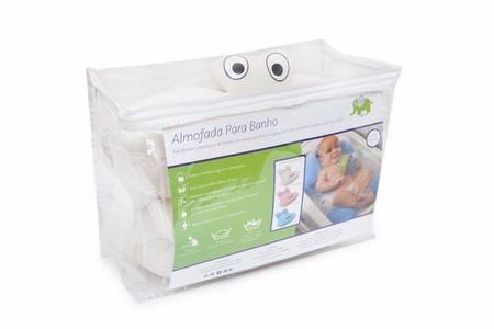 Almofada Para Banho Do Bebê Baby Pil - Creme