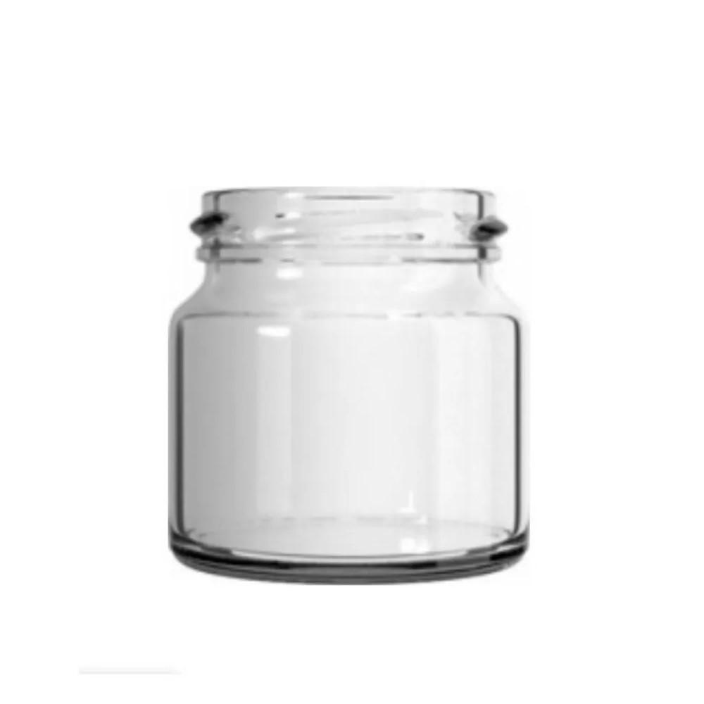 48 Potes De Vidro De 120ml - Tampa Branca - Para Geleias, Mel, Papinhas, etc...