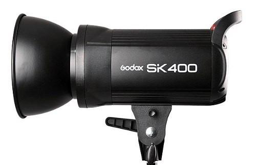 Flash Tocha Profissional Para Estudio Fotografico Godox - SK400 220v