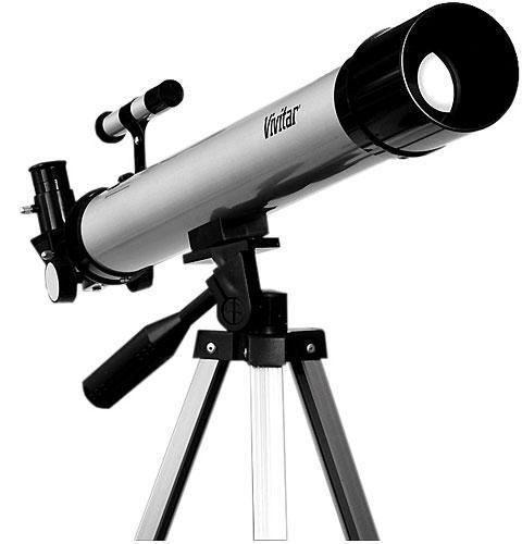 Telescópio De Refração 60x A 120x Com Tripé Vivitar - VIVTEL50600