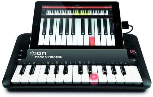 Teclado PianoApp Para Conexão IPad - IPhone 3GS E 4 - IPod 3ª E 4ª Gerações - PIANOAPP