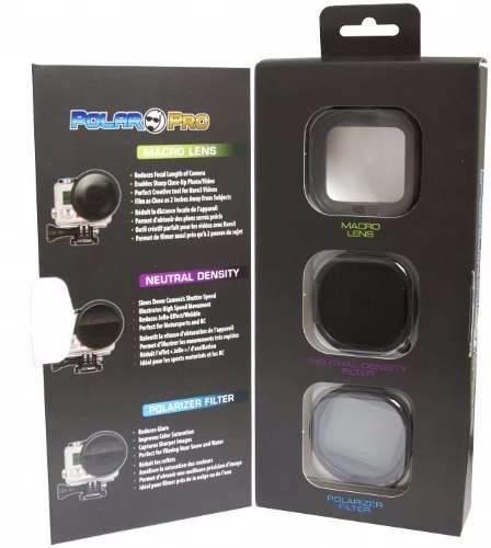 Kit Lentes E Filtro Para GoPro Hero 3+  - P1015