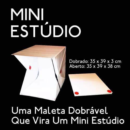 Mini Estúdio Foto Sitll Fotografia De Produtos Studio INSTAFOLD - FULLFILMENT VENDAS