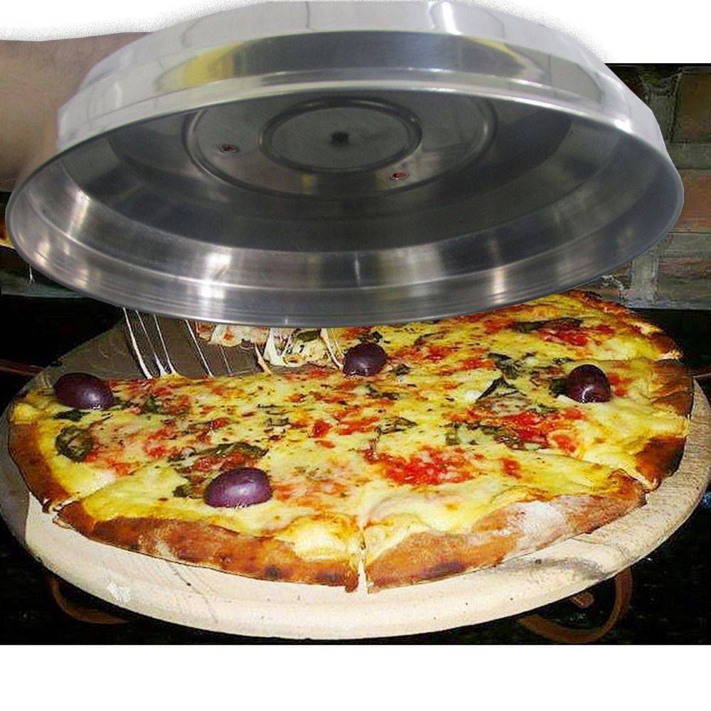 Abafador de Pizza em Alúminio Grande 40cm - ABAF40