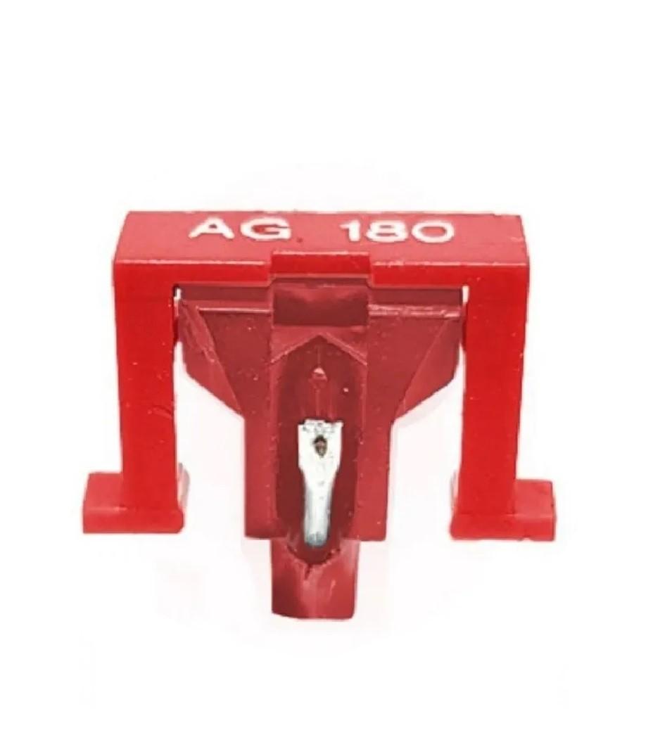 Agulha AG-180 Rubi Original Leson Para Toca Discos e Vitrola - AG-180R