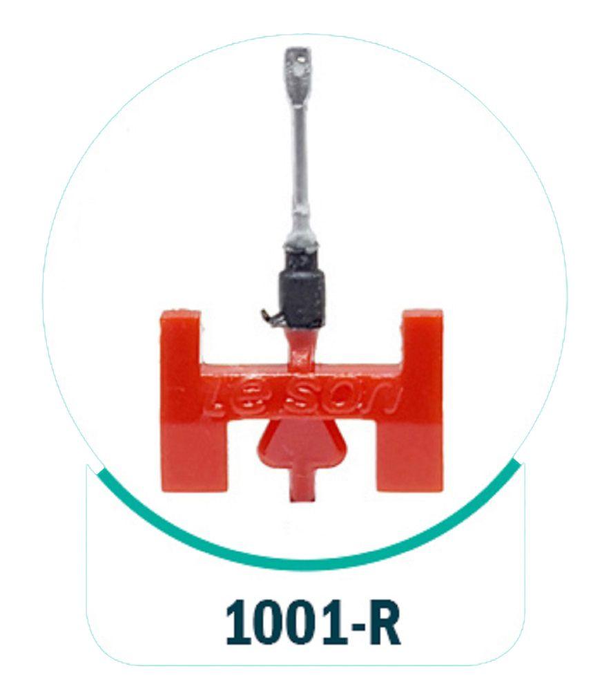 Agulha Leson 1001-R Rubi Original Para Toca Disco E Vitrola - 1001-R