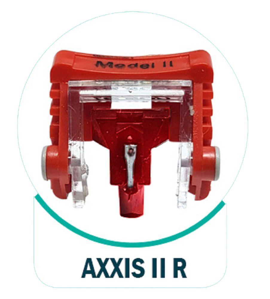 Agulha Leson Axxis II Rubi Original Para Toca Discos E Vitrolas - Axxis II R