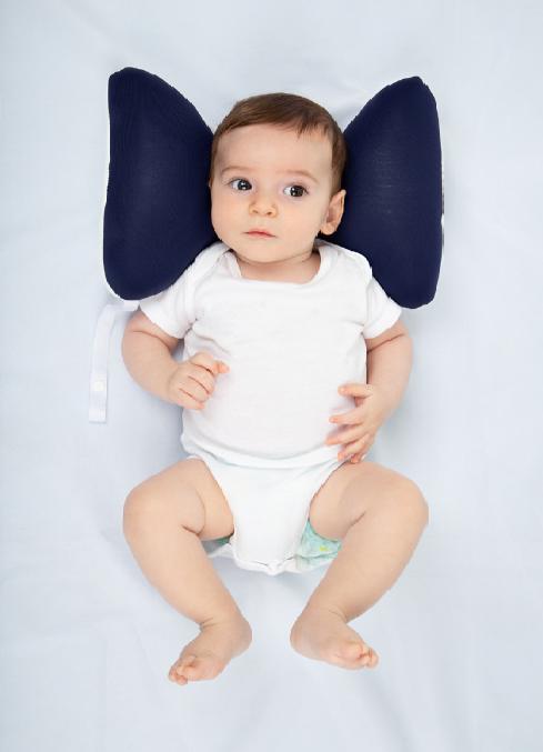 Almofada de Pescoço Para Bebê Marrom - 99060M