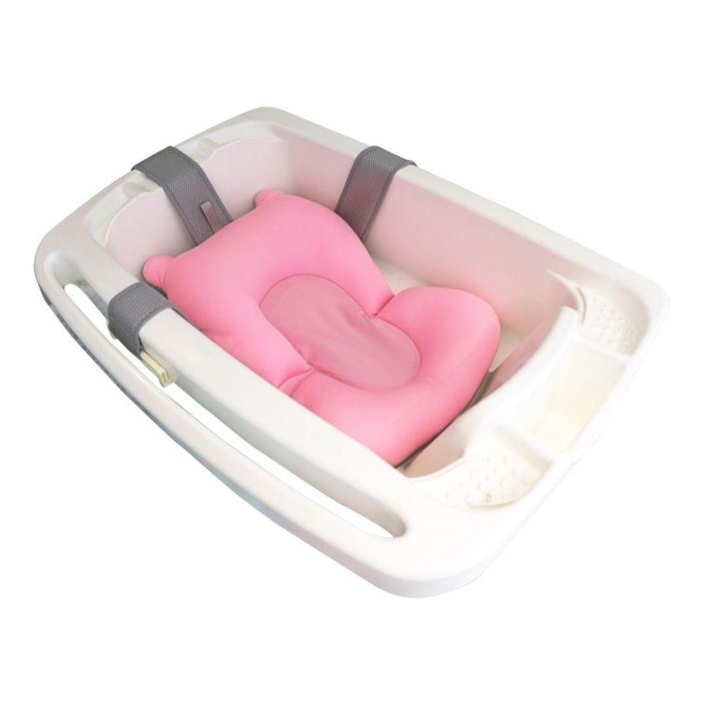 Almofada Para Banho Do Bebê Kababy Rosa - 22101R