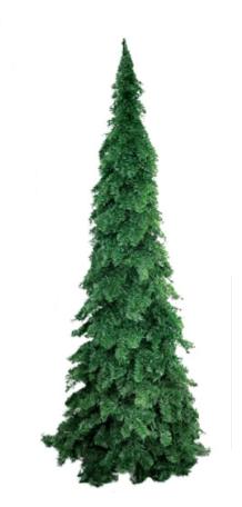 Árvore De Natal Pinheirinho Gigante Verde 3,0 Metros 1485 Galhos - Pinho De Lucca 5
