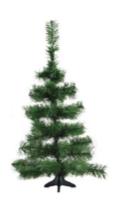 Árvore De Natal Pinheirinho Media Verde 0,80 Centímetros 37 Galhos - Shangai 2