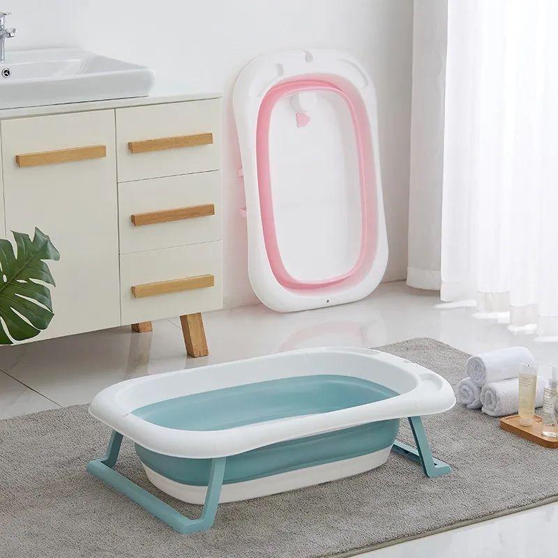 Banheira Para Banho Bebê Dobrável Retrátil Kababy - 22201A/R