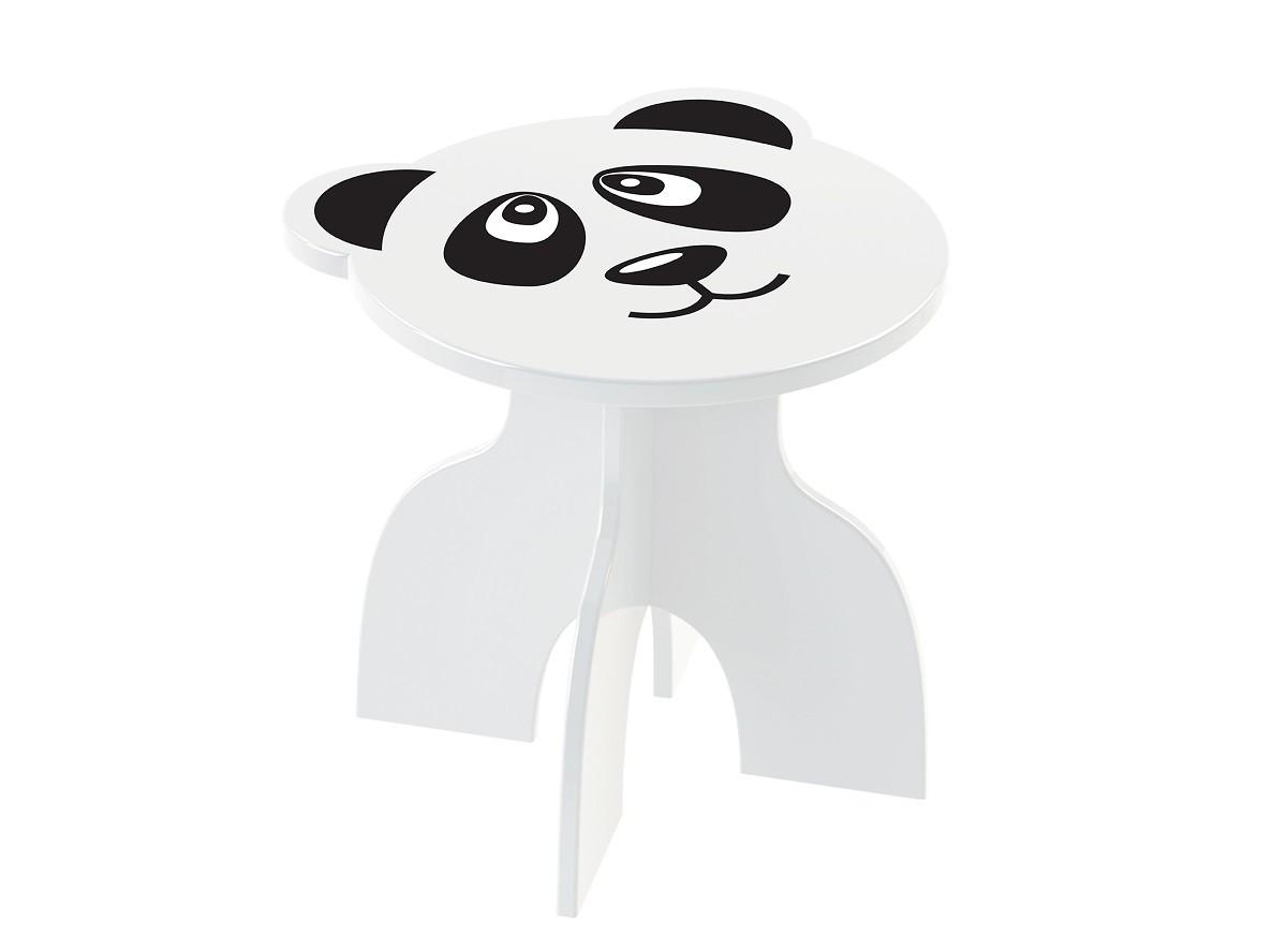 Banquinho Infantil Panda Em MDF Junges Animal Kids - 961
