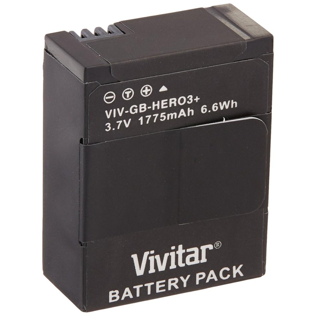 Bateria Recarregável Vivitar Compativel Com GoPro - AHDBT-301/AHDBT-302 - VIV-GBHERO3