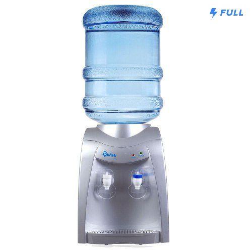 Bebedouro Eletrônico Água E Natural Gelada Refrigerado 220v Prata - FULLFILMENT VENDAS