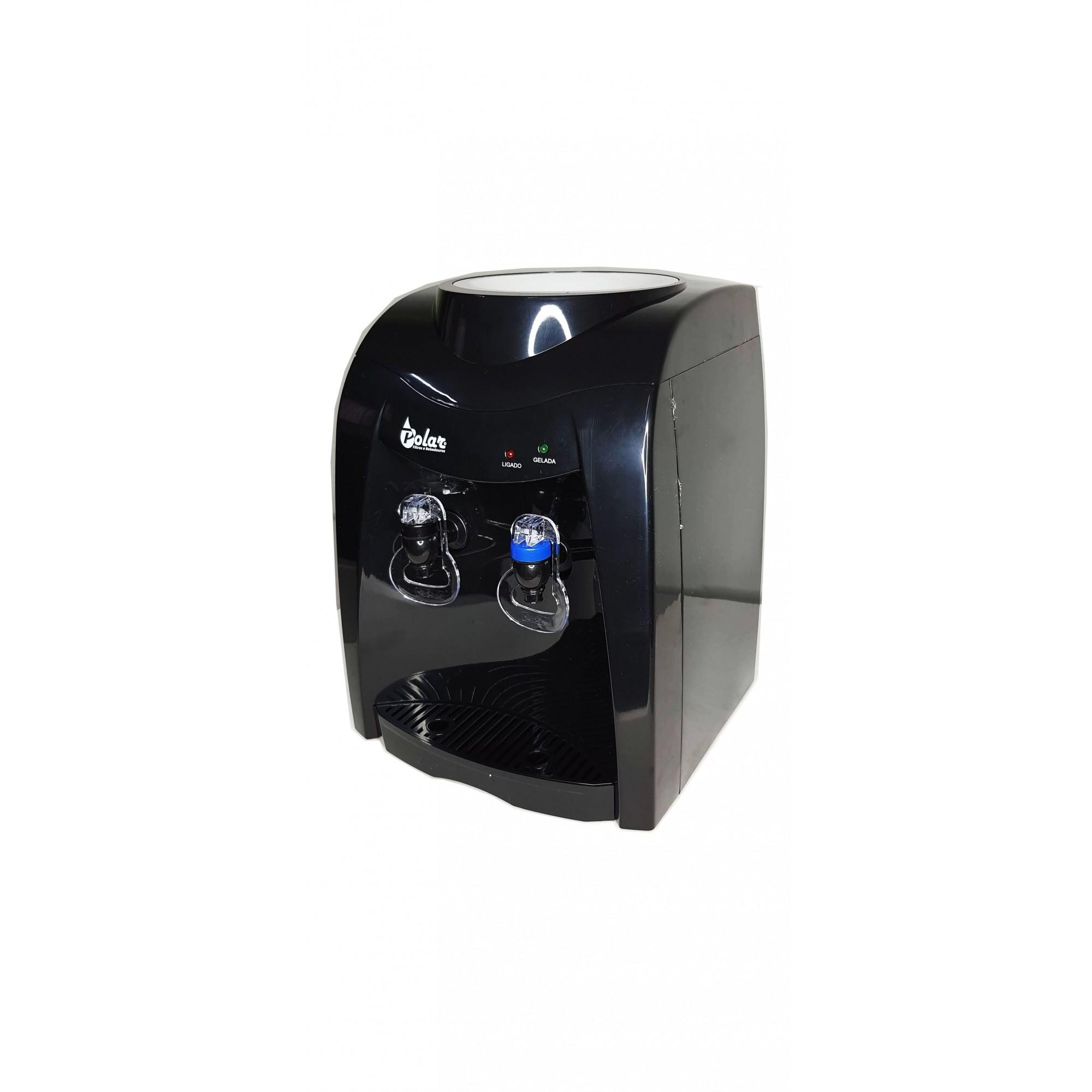 Bebedouro Eletrônico Refrigerado Polar Preto - SV5500B  220v