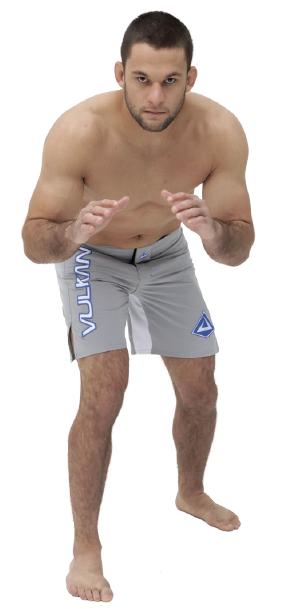 Bermuda Tecnologic Vulkan Preta Para Combate MMA e Artes Marcial - COMBAT CINZA
