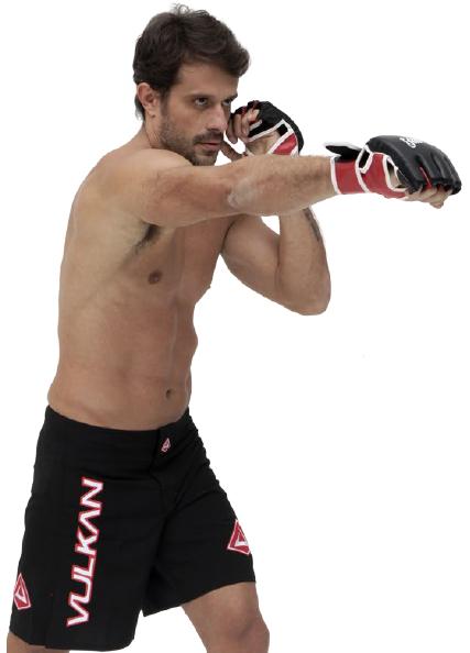 Bermuda Tecnologic Vulkan Preta Para Combate MMA e Artes Marcial - COMBAT PRETA