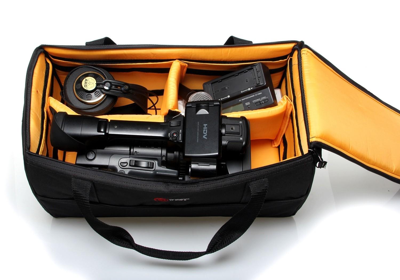 Bolsa Para Filmadoras E Câmeras Profissional e Equipamentos Fotográficos - HD