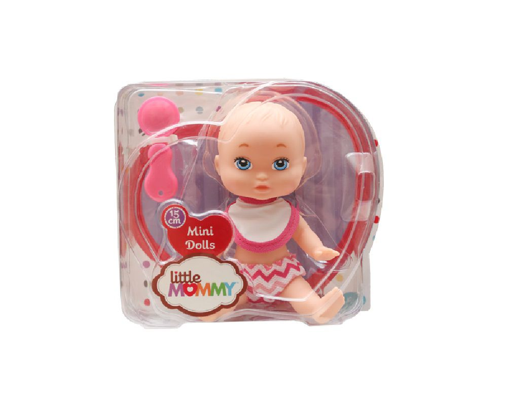 Boneca Mini Dolls Little Mommy Papinha 15cm – 1007
