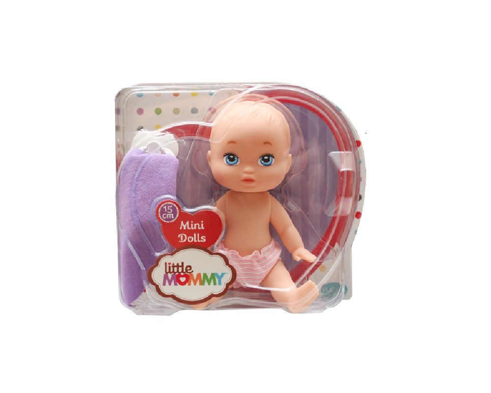 Boneca Mini Dolls Little Mommy Soninho 15cm – 1004