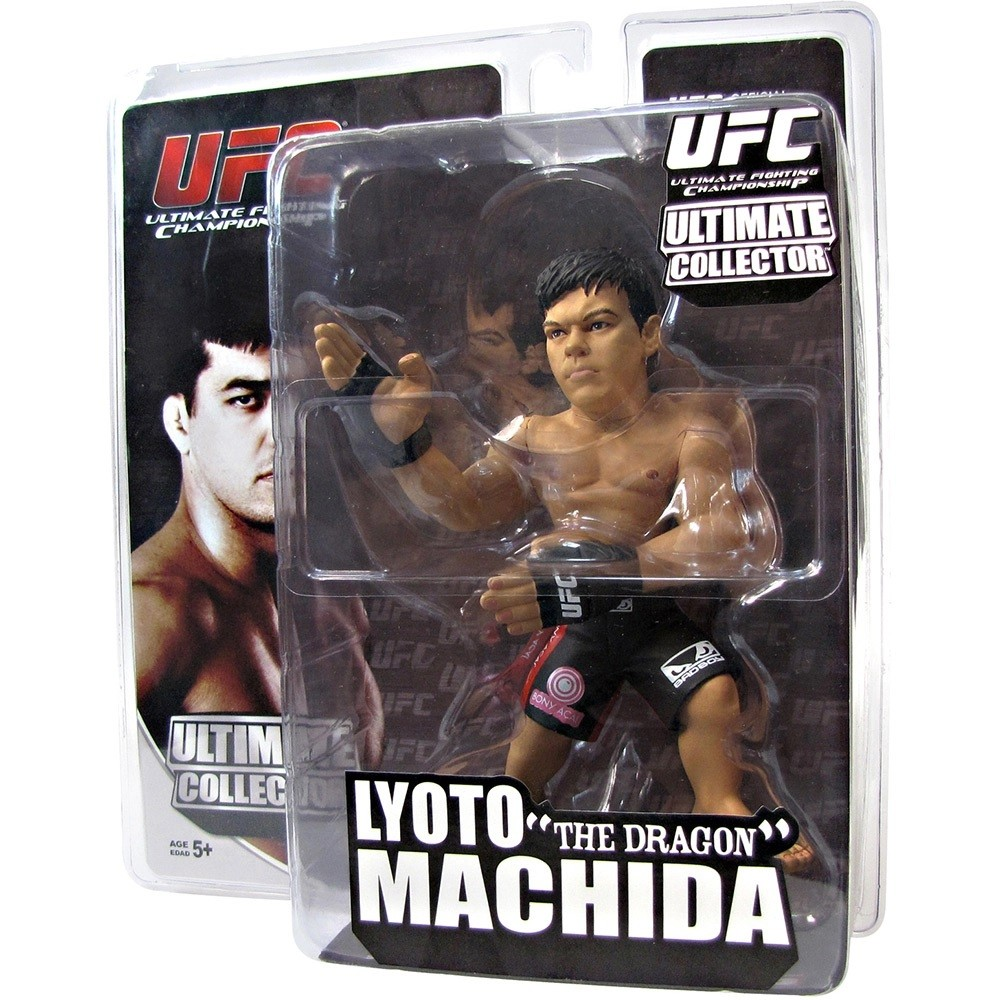 Boneco Action Figure UFC Ultimate Fighting Championship - Lyoto The Dragon Machida