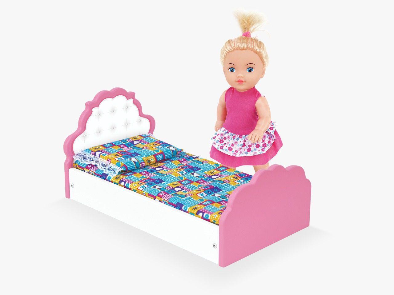 Brinquedo Infantil Cama Com Boneca Mimadinha - 415