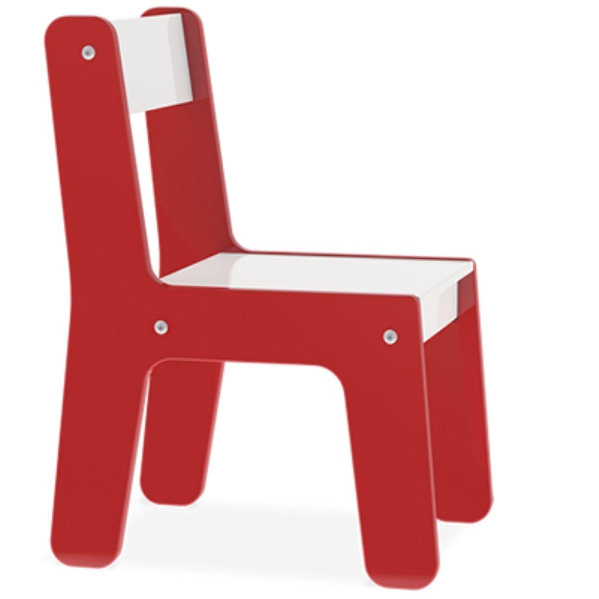 Cadeira Em Madeira Mdf Para Bebês E Crianças Infantil - Junges