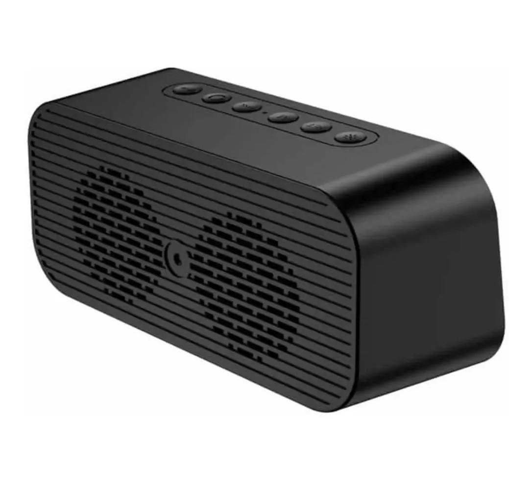 Caixa De Som E Rádio Relógio FM Bluetooth Auxiliar Micro SD Led LCD - SPK-B015