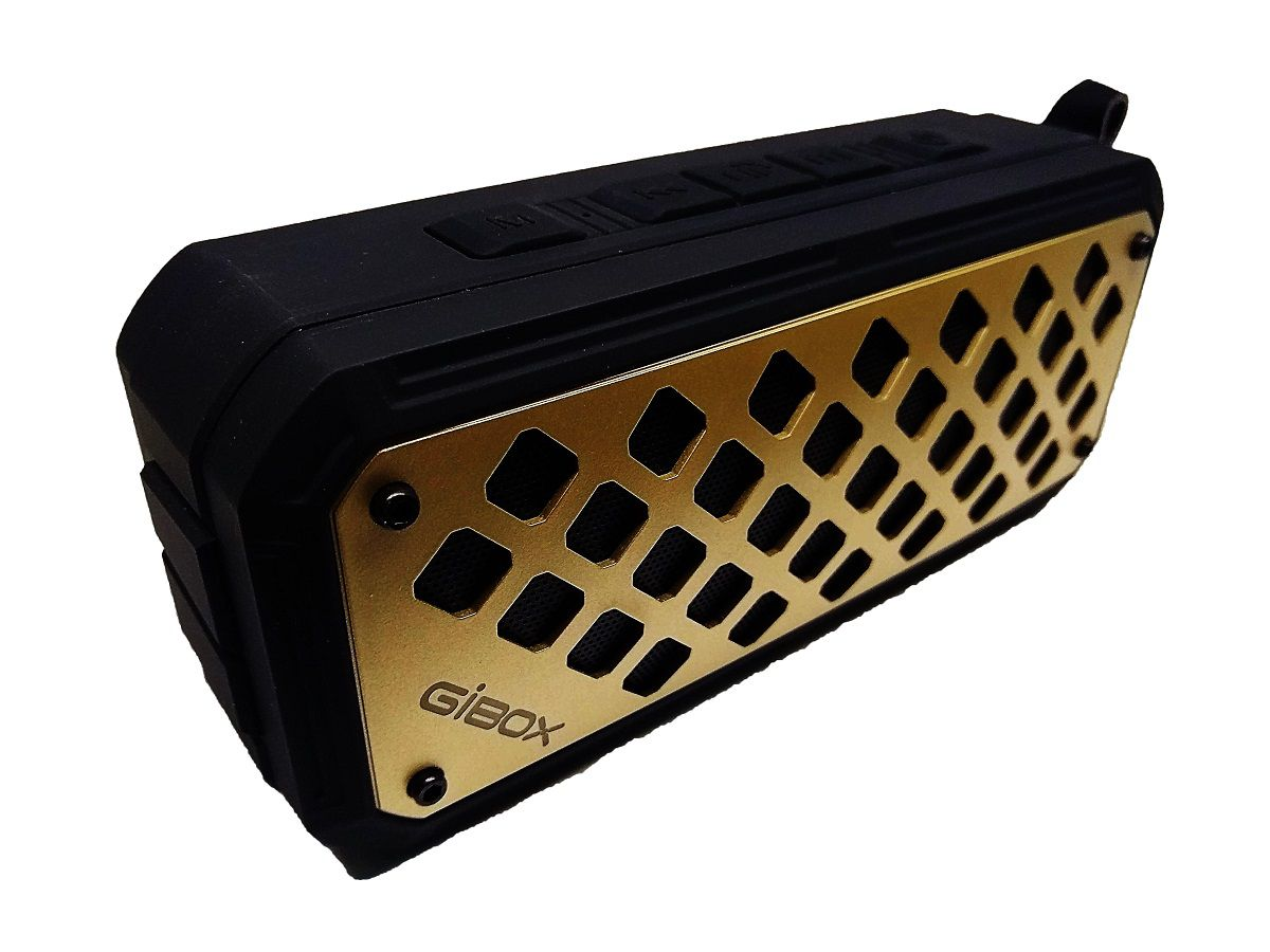 Caixa De Som Portátil Bluethoot Gibox 2000mAh 10W - G63