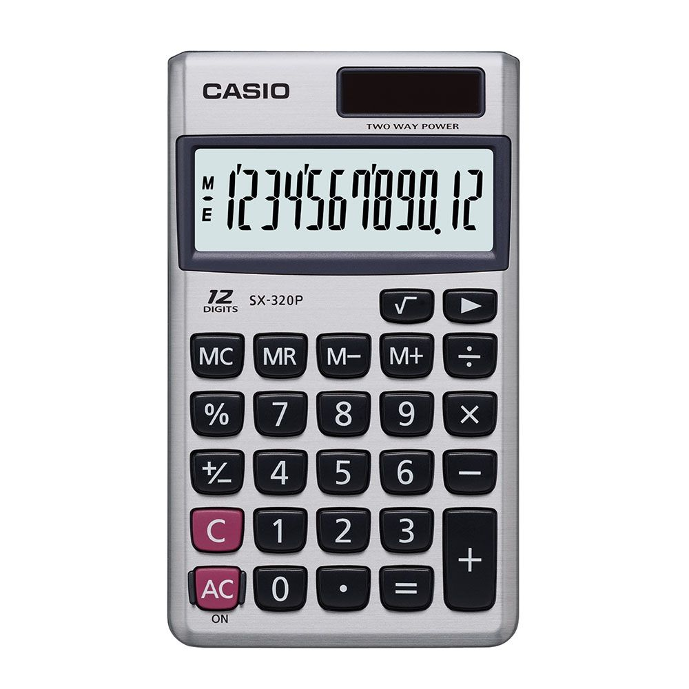 CALCULADORA CASIO - SX-320P