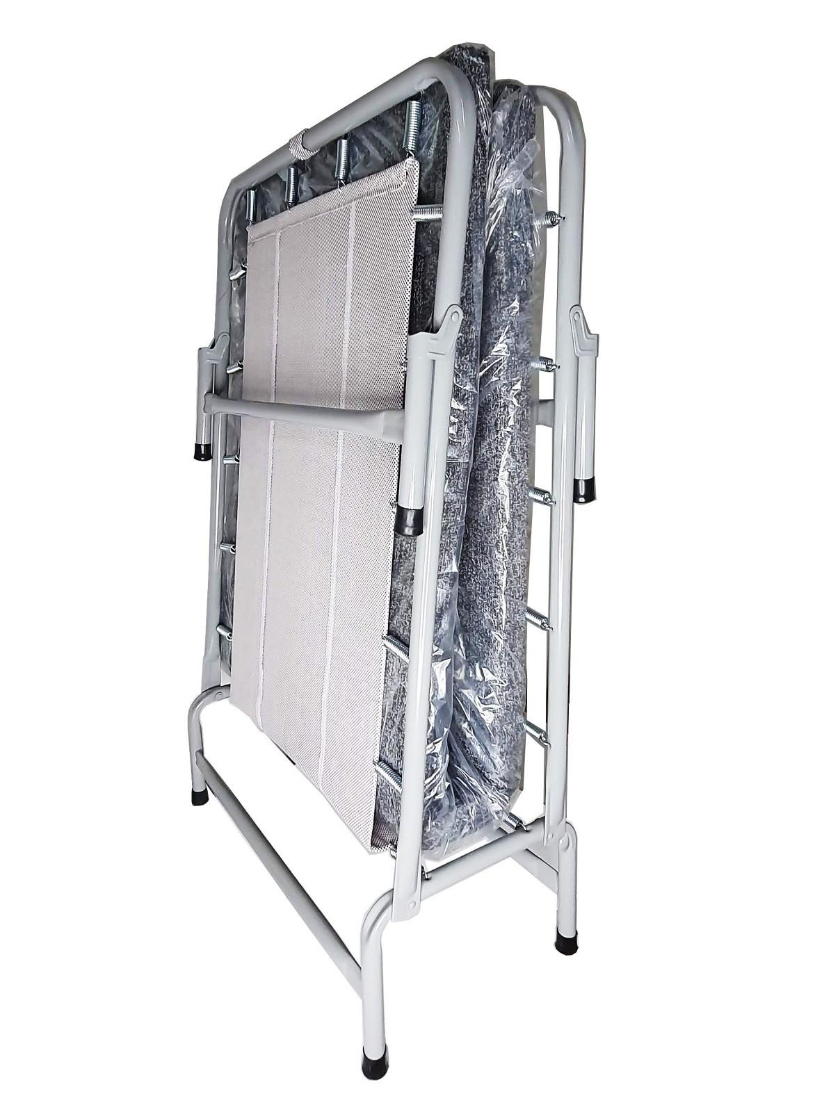 Cama Dobrável Em Aço CL COM Colchonete 100kg Hashigo - CL H-137