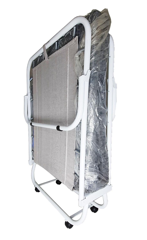 Cama Dobrável Em Aço COM Colchonete ELEGANCE 120kg Hashigo - H-189