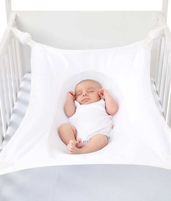 Cama Segura Primeiro Sono Redinha para Berço de Bebê Branca - 99031B