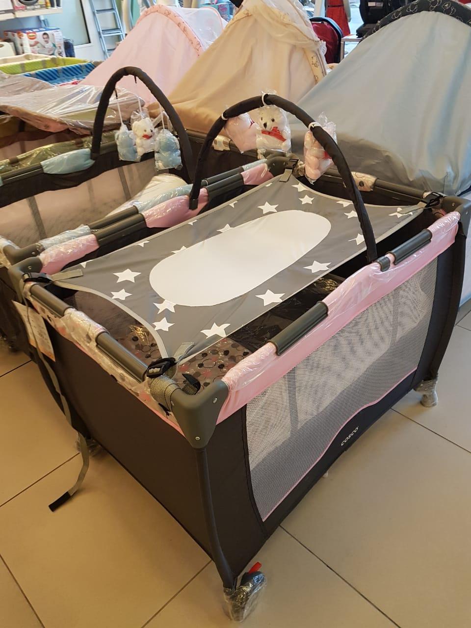 Cama Segura Primeiro Sono Redinha para Berço de Bebê Rosa - 99031R
