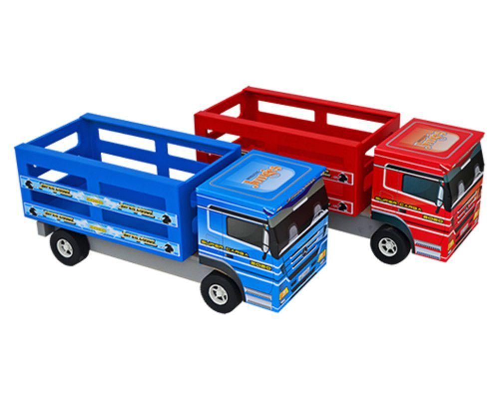 Caminhão De Brinquedo Boiadeirinho Em Madeira MDF - 103
