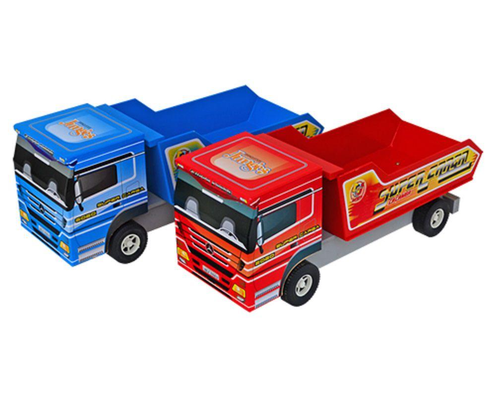 Caminhão De Brinquedo Caçamba Em Madeira MDF - 105