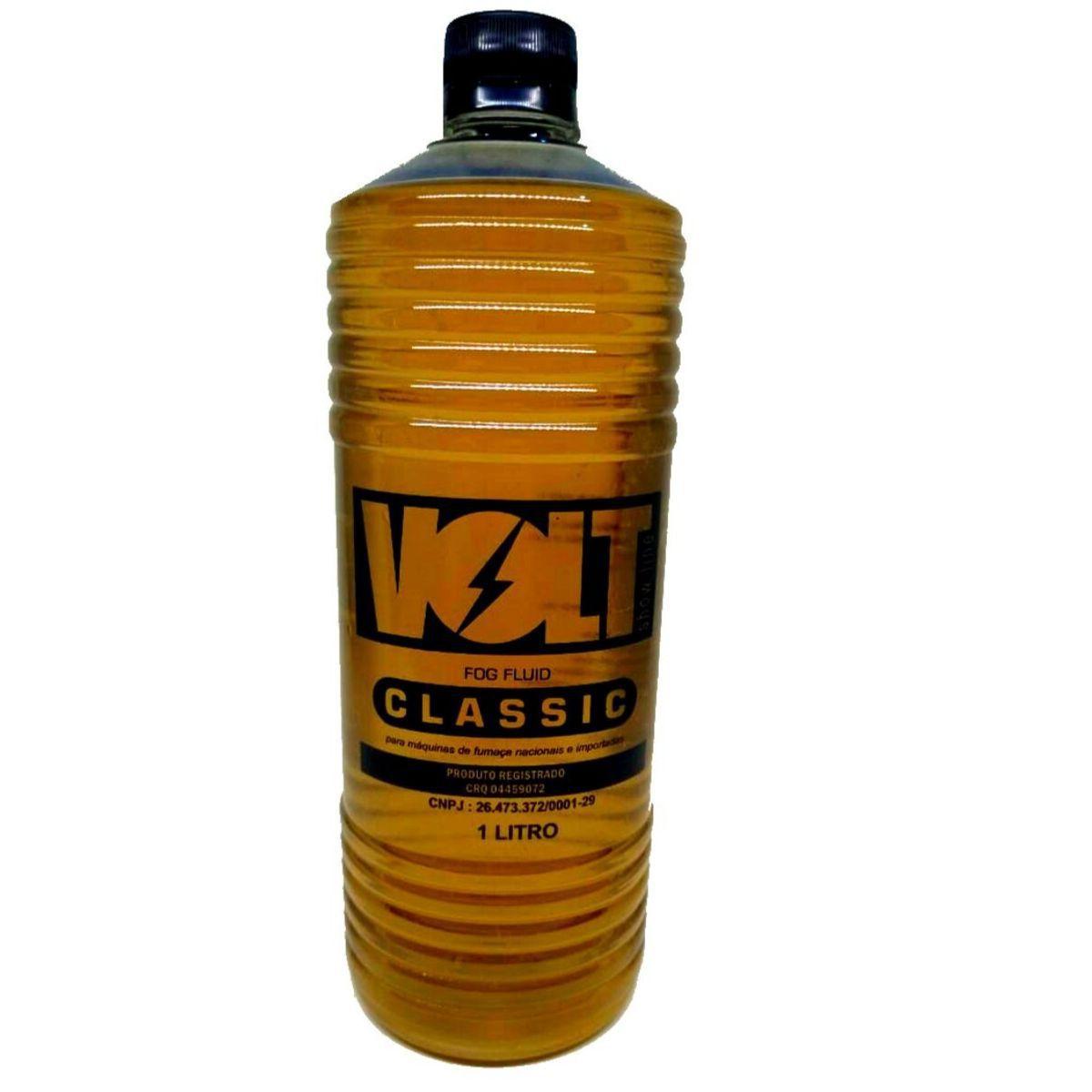 Carga Para Maquina de Fumaça 1 Litro Classic Volt  - MY1012 - KIT FULLFILMENT