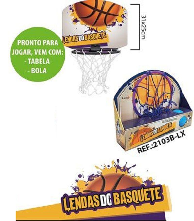 Cesta de Basquete Infantil Lendas do Basquete - 2103B